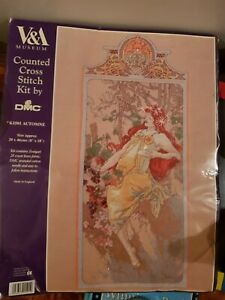 DMC V&A Museum - Automne - Counted Cross Stitch Kit - (K1501)