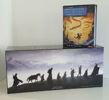 Lord of the Rings Boxset 38 Audio Cassettes Rare 2001 Edition & Hobbit Tapes