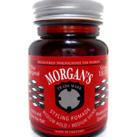 Morgan's Hair Styling Pomade Medium Hold and Shine Cream Wax Crema Cabello Pelo
