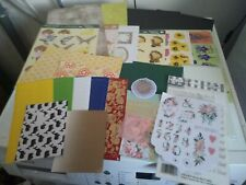 PACKAGE HOBBYCRAFTS  FOR MAKE CARDS/CRAFTS NEW (HC10) MIX