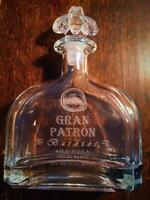 Gran Patron Burdeos Tequila Empty Bottle 750ml No scratches Super Rare 605/MN