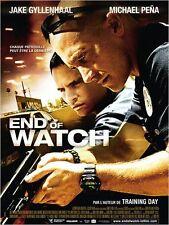 Affiche 120x160cm END OF WATCH (2012) Jake Gyllenhaal, Michael Peña NEUVE