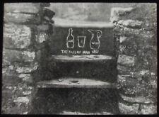 Glass Magic Lantern Slide BURTONS STYLE PORTH C1910 PHOTO CORNWALL