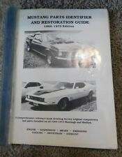 MUSTANG PARTS IDENTIFIER and RESTORATION GUIDE 1969  1973 Edition SHELBY
