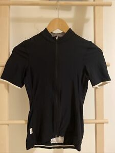 Rapha Womens Black Souplesse Lightweight Cycling Jersey XS