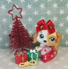 Littlest Pet Shop Hund #344 Cocker Spaniel Dog LPS + Accessoires