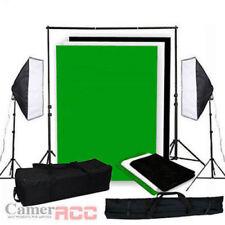 Fotostudio Studioset Softbox 3x1,6M Hintergrundsystem Stativ 1250W Neu DHL�—†