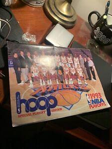 1993 Hoop NBA Playoffs & Finals Edition Magazine