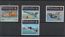 Gibraltar 2012 MNH RAF Squadrons I 4v Set Royal Air Force Gloster Javelin