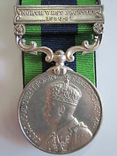 British India General Service Medal - N.W.F 1930-31 Sep. Nandu 2-17 Dogra R.