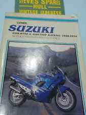 GSXR750/GSX750F,1100F KATANA  models .1988-1994 CLYMER WORKSHOP MANUAL ,