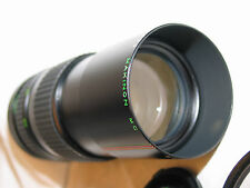 PENTAX SCREW MOUNT M42 makinon 80-200mm f4.5 zoom lens for 35mm slr camera