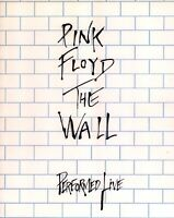 PINK FLOYD 1980 THE WALL U.S. TOUR CONCERT PROGRAM BOOK ROGER WATERS / NM 2 MINT