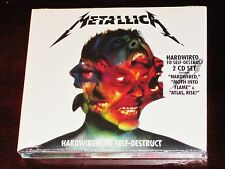 Hardwired...To Self-Destruct [Deluxe Version] by Metallica (CD, Nov-2016, 3 Discs, Blackened)