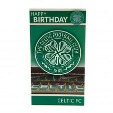 Celtic FC Official Birthday Card And Badge (Have A great Day Celebrate In Style)