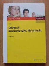 Lehrbuch Internationales Steuerrecht Wilke 10 Auflage ISBN 9783482755101