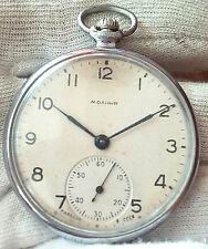 "MOLNIJA CCZ VERY RARE OLD 1960""S  USSR SOVIET POCKET WATCH 15jewels"