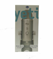 Blue YETI Professional Wired USB Microphone, Multiple Pattern Selection - Silver