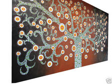 Giant (over 60in.) Floral Aboriginal Art Paintings