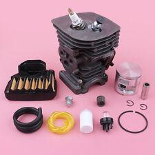 47mm Cylinder Piston Kit For Husqvarna 455 460 Air Fuel Filter Line Primer Bulb