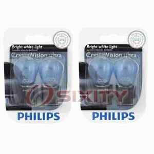 2 pc Philips Tail Light Bulbs for Jeep Cherokee Compass Gladiator Grand bx