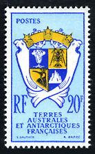 FSAT TAAF 15, MNH. Coat of Arms. Penguin, Langoust, Sea seals, 1959