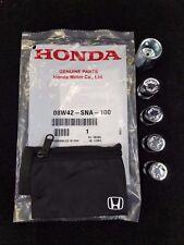 NEW GENUINE HONDA WHEEL LOCK SET 08W42-SNA-100 (EXPOSED LUGS)