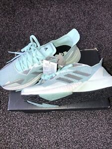 Ladies Adidas Green Boost Running Trainer Size 8/42 New