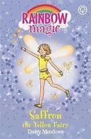 """AS NEW"" Saffron the Yellow Fairy: 3 (Rainbow Magic): 5, Meadows, Daisy, Book"