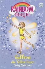 Saffron the Yellow Fairy (Rainbow Magic) By Daisy Meadows NEW Paperback Book BN