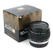 Olympus OM System Zuiko Macro 50mm F/3.5 Manual Focus Prime Lens