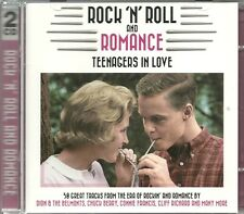 ROCK 'N' ROLL AND ROMANCE TEENAGERS IN LOVE - 2 CD BOX SET - BILLY FURY & MORE
