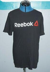 Mens REEBOK  CLASSIC T-shirt vintage/retro british flag/union jack casual Medium