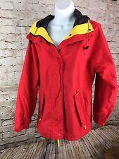 Eddie Bauer Gore Tex Lightweight jacket Women's Small Red Lwj68