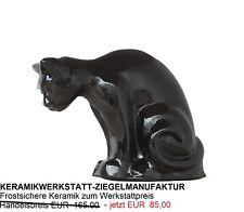 Dachschmuck-schwarz glasierte Dachkatze-Firstziegel-Schmuckfirst-Spitzen etc.