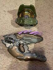Halo Plastic Gun And Mask, Needler, Master Chief, Costume, Cosplay