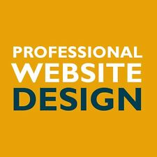 PROFESSIONAL BESPOKE WEB WEBSITE DESIGN UNLIMITED PAGES LOGO FOR SALE SEO GOOGLE