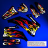 2002-2014 YAMAHA YZ 125-250 Restyle UFO FLAME GRAPHICS KIT DECALS