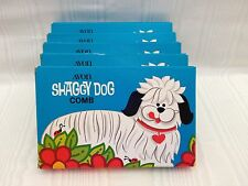 Vintage NOS Avon Lot of 5 Shaggy Dog Combs