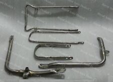 BSA B31 A7 A10 PLUNGER MODEL FRONT AND REAR FENDER MUDGUARD STAYS MOUNTING KIT