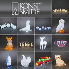 Konstsmide LED Außen Garten Leuchte Dekoration Deko Licht Acryl Figur Weihnacht