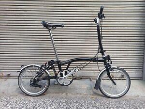 Bicicleta Brompton negra 6v Año 2020