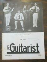 The Guitarist Magazine October 1939 Freddie Sturm & His Hawaiian Ensemble