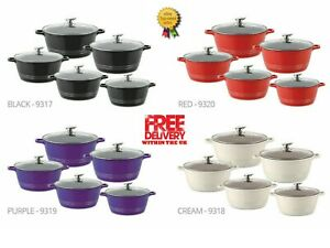 DURANE DIE CAST COOKING POT SIZE FROM 20CM TO 32CM OR FULL SET