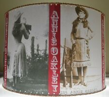"NEW Annie Oakley Cowgirl Lamp Shade, 12"" x 12"", Western Decor"