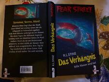 Das Verhängnis Stille Wasser sind tief von R. L. Stine Fear Street Buch gebr.