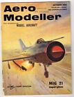 AEROMODELLER  Magazine October 1966 AIRCRAFT DESCRIBED·MiG 21 with 3-Views