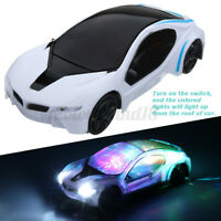 3D Supercar Style Electric Toy With Wheel LED Lights Music Kids Boys Girls Gift