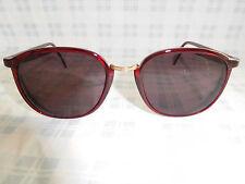 Vintage Sebastiano France Sunglasses Eyeglasses Frame Red 80s 90s