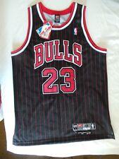 Nike Chicago Bulls Authentic Michael Jordan jersey pinstripe 48 XL NWT 8403 Rare